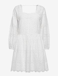 Omia Dress - korta klänningar - white
