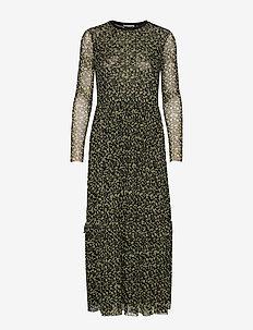 Ollie Loose Dress - LEMON FLOWER