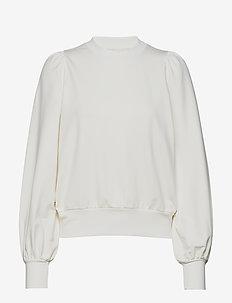 Paige Sweatshirt S - sweatshirts - cream