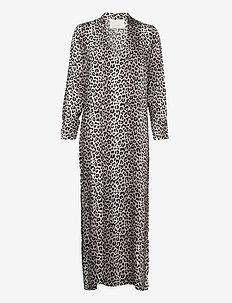Papaya Dress - maxiklänningar - noir leopard