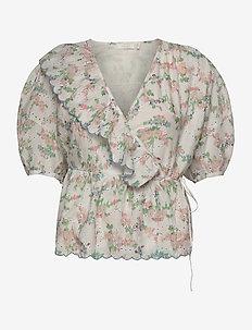 Patricia Top - blouses à manches courtes - romantic flower
