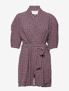 Pam Playsuit - jumpsuits - rose check