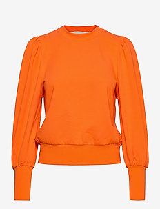 Oxford Sweatshirt - sweatshirts - pop orange