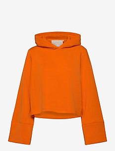 Rachel Hoodie - crop tops - pop orange