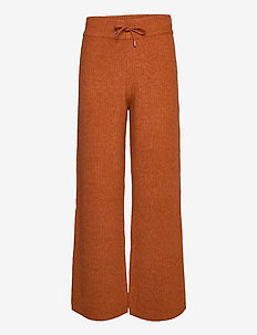 Rhonda Pants - vida byxor - burnt orange