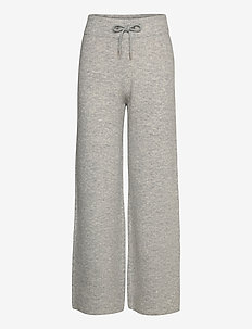 Rhonda Pants - vida byxor - light grey melange