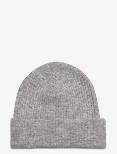 Rhonda Hat - luer - light grey melange
