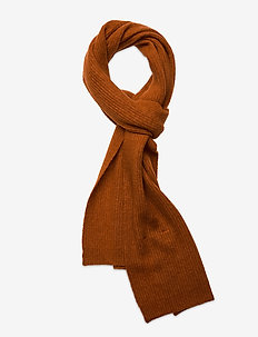 Rhonda Scarf - sjalar & halsdukar - burnt orange