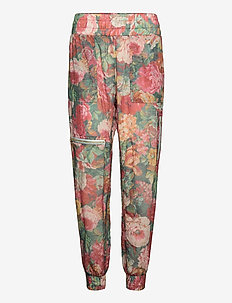 Richie Flower Pants - casual byxor - vintage flower