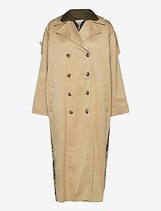 Ricci Coat - trenchcoats - nude