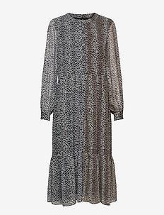 Sophie Recycled Dress - vardagsklänningar - leopard