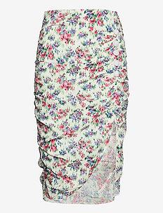 Shelly Flower Skirt - midi kjolar - flower  dream