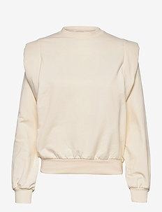 Simone Sweatshirt - sweatshirts & hoodies - cream