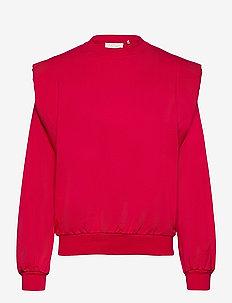 Simone Sweatshirt - sweatshirts & hoodies - jazzy pink