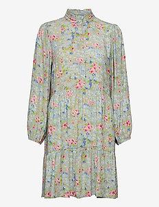 Samantha Flower Short Dress - sommarklänningar - romantic flower