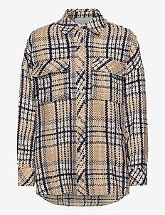 Soul Shirt - tøj - navy check