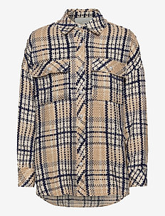 Soul Shirt - kläder - navy check