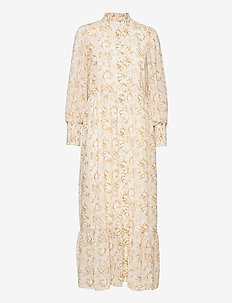 Tracy Recycled Maxi Dress P - sommarklänningar - flower sketch