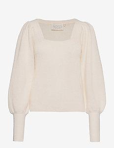 Tori Blouse - trøjer - cream