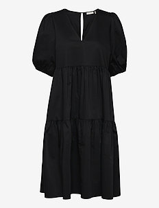 Tallulah Dress - vardagsklänningar - noir