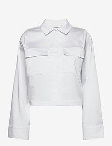Whitney Shirt S - overshirts - white