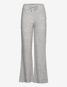 Avery Pants - casual bukser - light grey melange