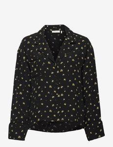 Alicia Lemon Shirt - chemises en jeans - lemon drop