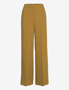 Oliana Pants Green Olive - pantalons droits - green olive