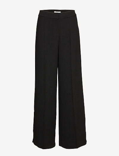Oliana Pants - bukser med brede ben - noir
