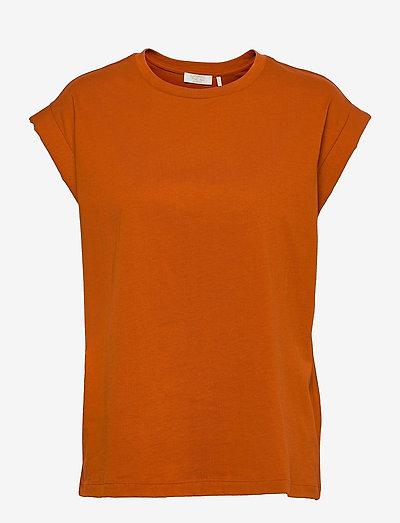 Porter T-shirt - t-shirts - burnt caramel