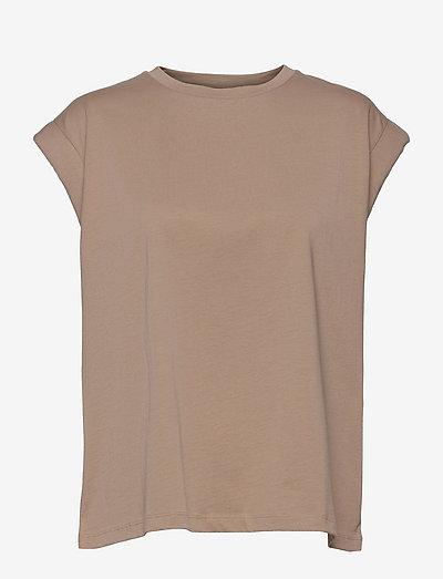 Porter T-shirt - t-shirts - silver mink