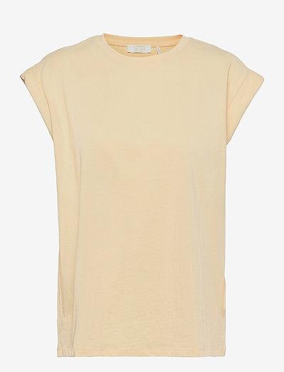 Porter T-shirt - t-shirts - soft lemon