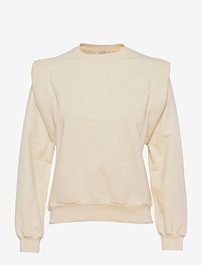 Simone Sweatshirt - sweatshirts - cream
