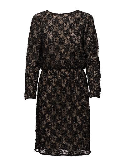 Evita Short Dress - NOIR