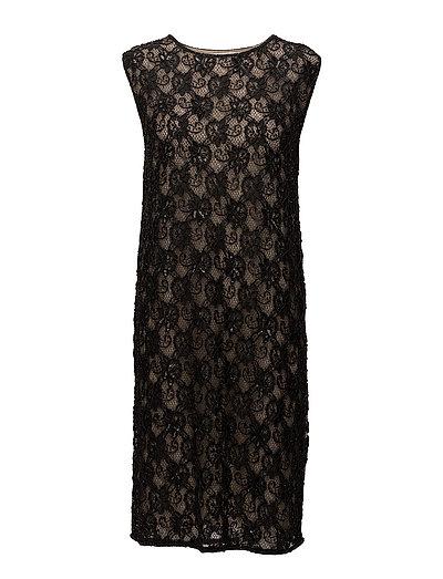 Evita Long Dress - NOIR