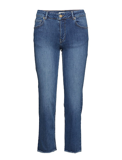 Hunter Straight Jeans - BLUE DENIM
