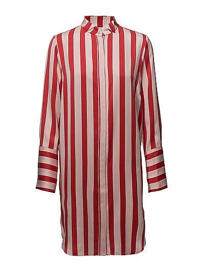 Hero Silk Shirt - STRAWBERRY STRIPE