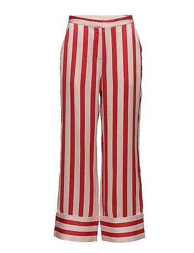 Hero Silk Pants - STRAWBERRY STRIPE