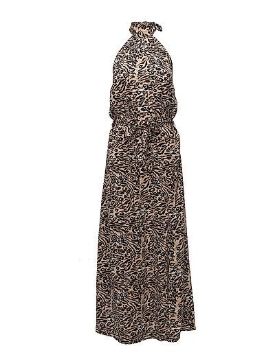 Hope Long Dress - LEOPARD