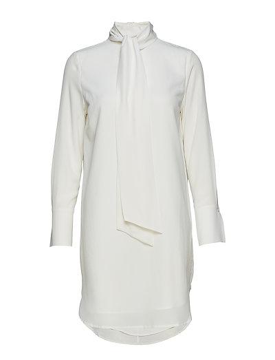 Harmony Silk Dress - CREAM
