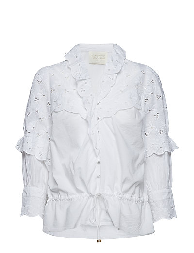 Hilary Shirt - WHITE