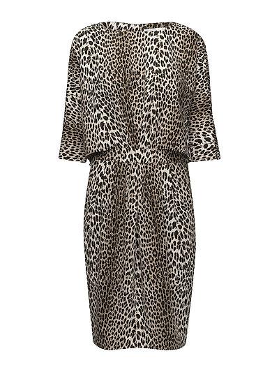 Ashlee Dress - LEOPARD