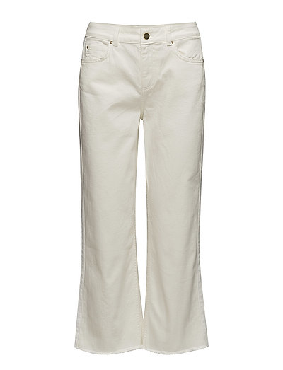 Iman Cropped Jeans - IVORY