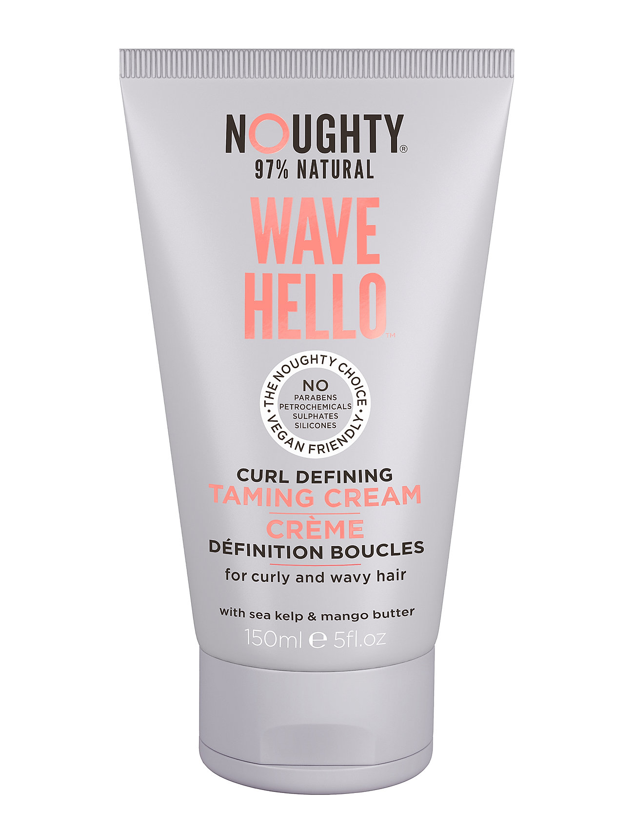 Image of Noughty Wave Hello Curl Cream Styling Cream Hårprodukt Nude NOUGHTY (3197998181)