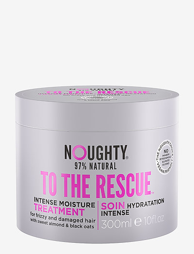 Noughty To The Rescue Intense Moisture Treatment - hårkurer - clear