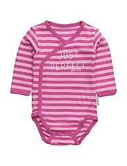 Pink Striped Wrap bo - PINK