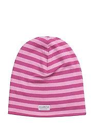 NB Pink Striped Bean - PINK