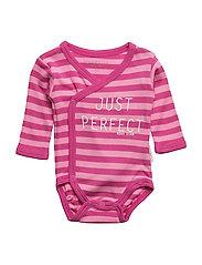 Pink Striped Wrap bo - PINK
