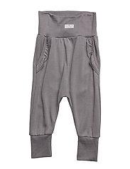 Grey Flounce Trouser - GREY