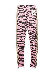 Leggings Zebra - PINK & DARK GREY